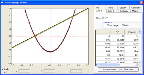VP VP Audio Graphing Calculator 2