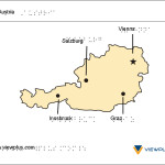 Braille Example - Austria Map