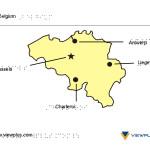 Braille Example - Belgium Map