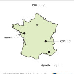 Braille Example - France Map
