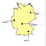 Braille Example - Germany Map