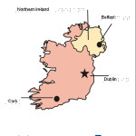 Braille Example - Ireland Map