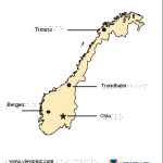 Braille Example - Norway Map