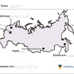 Braille Example - Russia Map