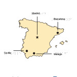 Braille Example - Spain Map