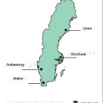 Braille Example - Sweden Map