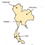 Braille Example - Thailand Map