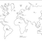Braille Example - World Map
