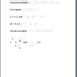 Braille Math Example - Arithmetic