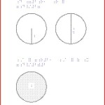 Braille Math Example - Geometry
