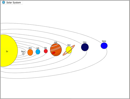 example of the solar system - photo #25