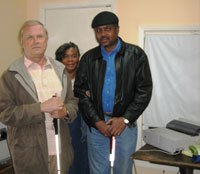 President Tom Ciesielski, Priscilla McCree & former president James McCree