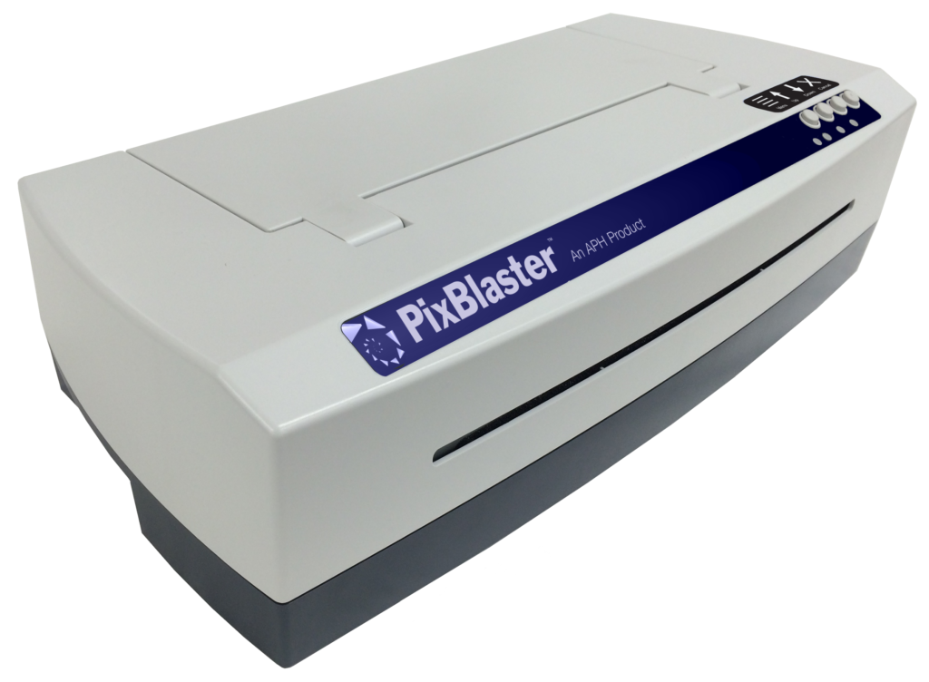 Photo of braille embosser PixBlaster