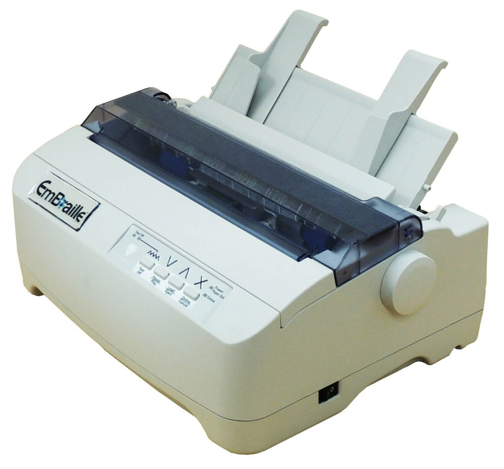Photo of braille embosser VP Embraille